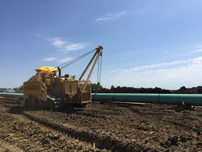 Michels completed 14 horizontal directional drills (HDD), custom fabricated facilities; built three pump stations; and performed heavy civil and foundations work.