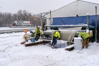 Michels restored more than a mile of sanitary sewer pipes on the St. Paul Interceptor.