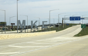 Michels managed the construction of the Mitchell Interchange reconstruction mega project as part of a joint venture.