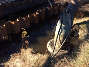 Michels performed casing removal on sections of natural gas pipe in Minnesota, Wisconsin and Kansas. The work sites in Minnesota and Wisconsin were wetlands, while the sites in Kansas were located in agricultural fields.