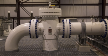 Michels managed and constructed the piping, mechanical scopes and pump installation of the Delavan Pump Station for Enbridge.