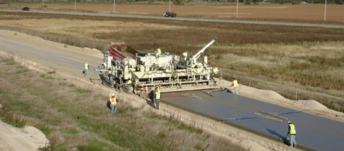 Michels was the concrete paving subcontractor for the construction of the Highway 26 Janesville - Fort Atkinson Road Interchange Project.